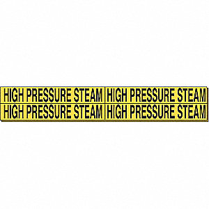 PIPEMARKER 92053 HIGH PRESSURE STEA