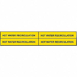 PIPEMARKER 90314 HOT WATER RECIRCUL
