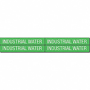 PIPEMARKER 79349 INDUSTRIAL WATER