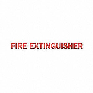 SIGN FIRE N/H 5X14