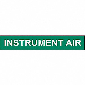 PIPEMARKER INSTRUMENT AIR