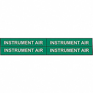 PIPEMARKER 92006 INSTRUMENT AIR