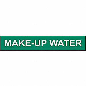 PIPEMARKER MAKE-UP WATER