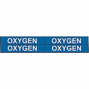 PIPEMARKER 77511 OXYGEN