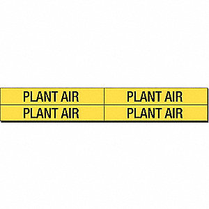 PIPEMARKER 93301 PLANT AIR
