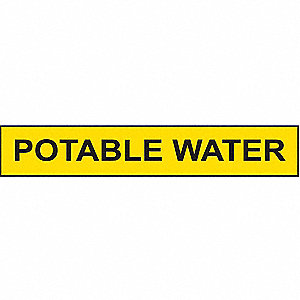 PIPEMARKER 79534 POTABLE WATER