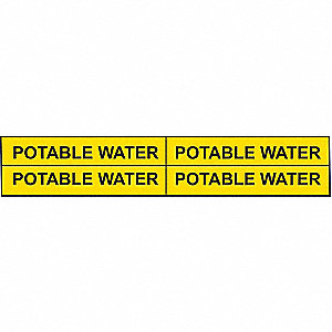 PIPEMARKER 79934 POTABLE WATER