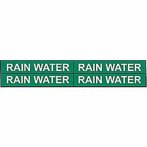PIPEMARKER 79860 RAIN WATER