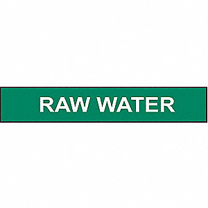 PIPEMARKER 91756 RAW WATER