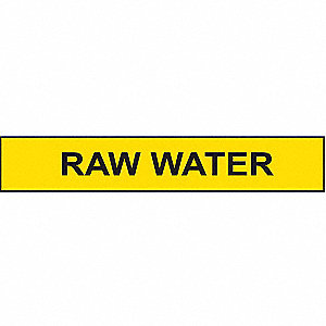 PIPEMARKER RAW WATER