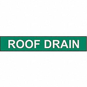 PIPEMARKER 90024 ROOF DRAIN