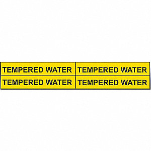 PIPEMARKER 36213 TEMPERED WATER