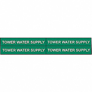 PIPEMARKER 91838 TOWER WATER SUPPLY