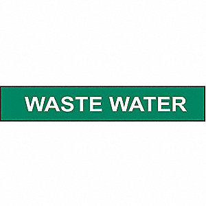 PIPEMARKER WASTE WATER
