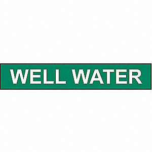 PIPEMARKER 79147 WELL WATER