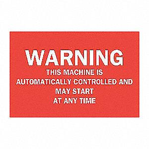 SIGN WARNING ETC