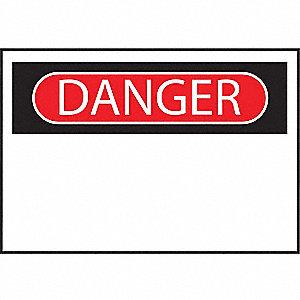 SIGN DANGER HEADER 7X10 B120