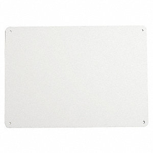 SIGN MAKE YOUR OWN BLANK 14X20 WHT