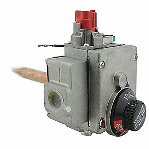 Gas Control Thermostat, Metal, For Use With 3CFK5, 6FGV0