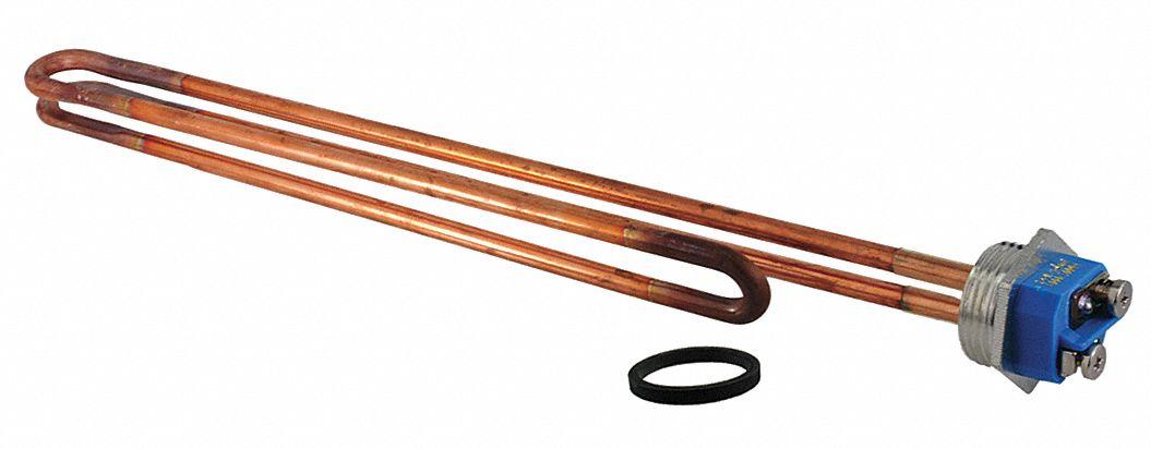 Resistored MWD Element,Copper,480V,6000W RHEEM SP10873QL