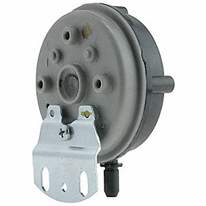 Pressure Switch, Metal and Plastic, For Use With 3CFJ3