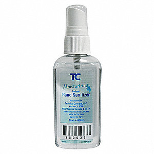 59mL Hand Sanitizer Pump Bottle, 36 PK
