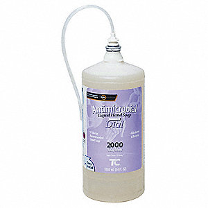 Antibacterial Soap Refill, Light Floral Fragrance, 1600mL, PK 4