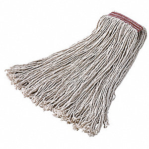 String Wet Mop,22 oz., Cotton,PK12