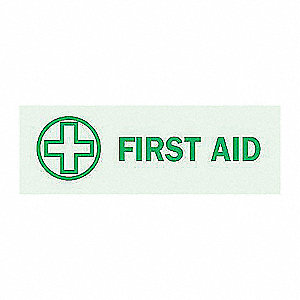 SIGN DIRECTIONAL FIRST AID