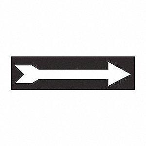 SIGN DIR/ARROW N/H 3 1/2 X 10