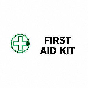 SIGN FIRST AID N/H 3 1/2 X 10