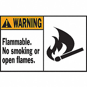 LABELS 86293 WARNING 3 1/2INX 5IN