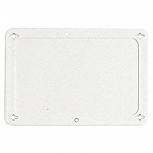 TAG PLASTIC WHITE 2-1/2X4