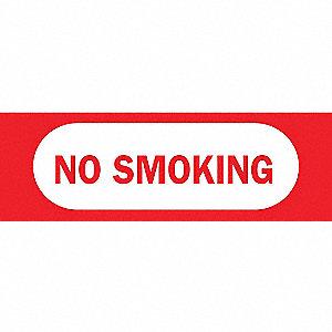 SIGN NO SMOKING N/H 3 1/2 X 10