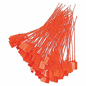 SEAL FIRE EXT, ORANGE 9IN LENGTH