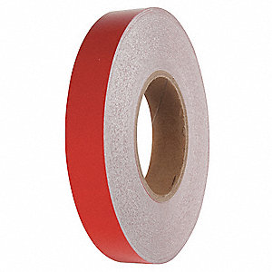 "Reflective Marking Tape, Solid, Roll, 1"" x 150 ft., 1 EA"