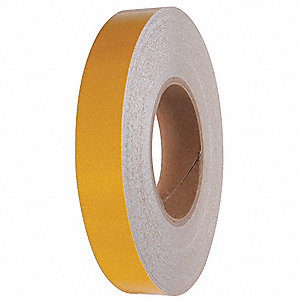 "Reflective Marking Tape, Solid, Roll, 2"" x 150 ft., 1 EA"