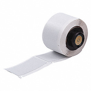 brady labels white blank 2x1 b486 label maker labels and tapes