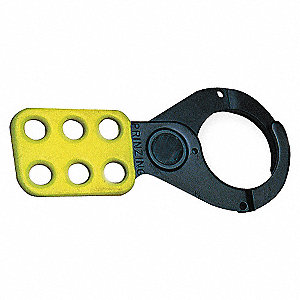 HASP LOCKOUT YELLOW