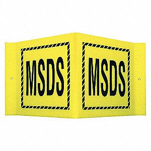 SIGN V STYLE MSDS 8X15