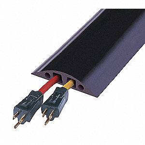 LARGE TWO CHANNEL MULTIPLE CABLES