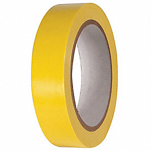 "Floor Marking Tape, Solid, Roll, 1"" x 216 ft., 1 EA"