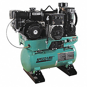 30 gal. Stationary Air Compressor/Generator/Welder
