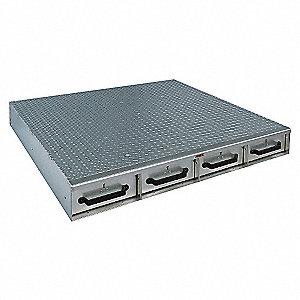 JOBOX ALUM 4DRAWER LNG FLR 50X6X48