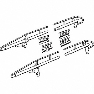 LADDER RACK SIDE CHANNEL KIT