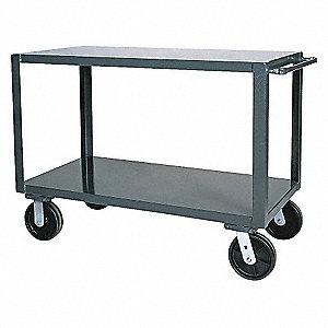 Utility Cart,Steel,36 Lx24 W,4000 lb.