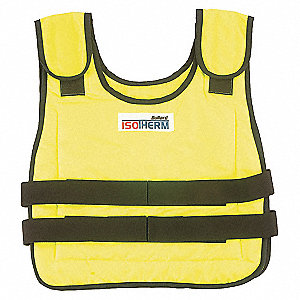 HIGH VIS YLW COOL VEST XL