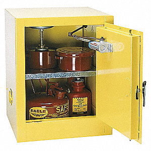 CABINET 4 GAL ONE DOOR SELF-CLOSING