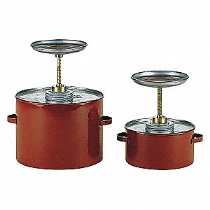 CAN PLUNGER 2 QT. RED METAL