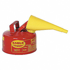 CAN 1 GALLON SAFETY W/FUNNEL